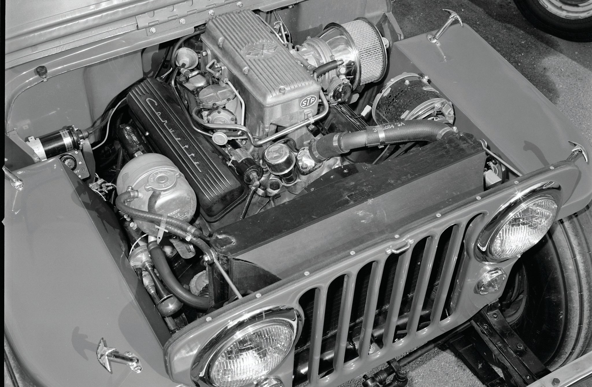 Jeep CJ 3A Engine Photo 70462048