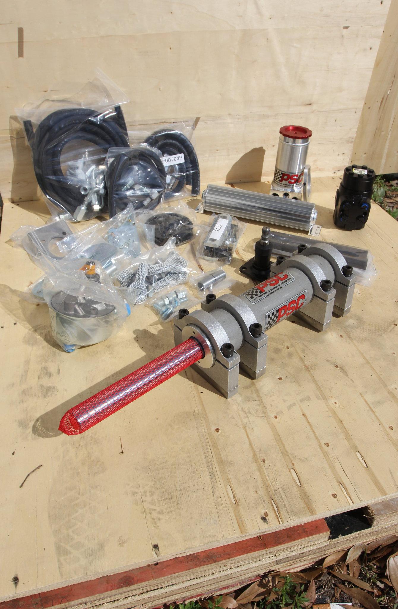 psc fully hydraulic steering kit