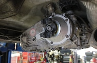 jeep transfer case with slip yoke eliminator installed