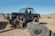 Changing Tire On Ford Bronco - Photo 70622675 - Picking The