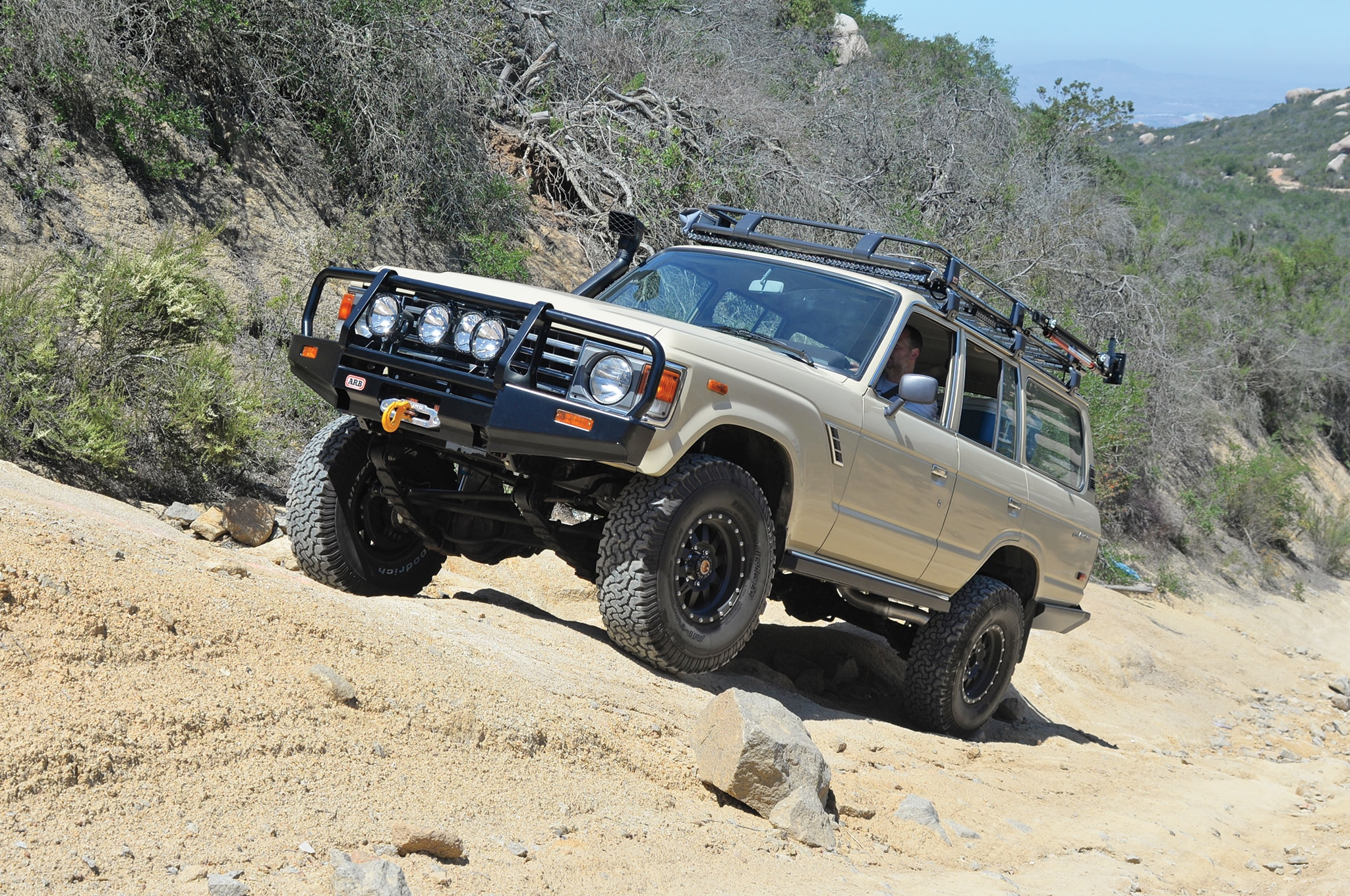 1984 Toyota FJ60 front three quarter
