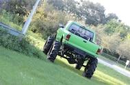 1995 ford ranger mud truck rear shot