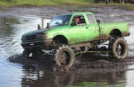 1995 ford ranger in mud pit
