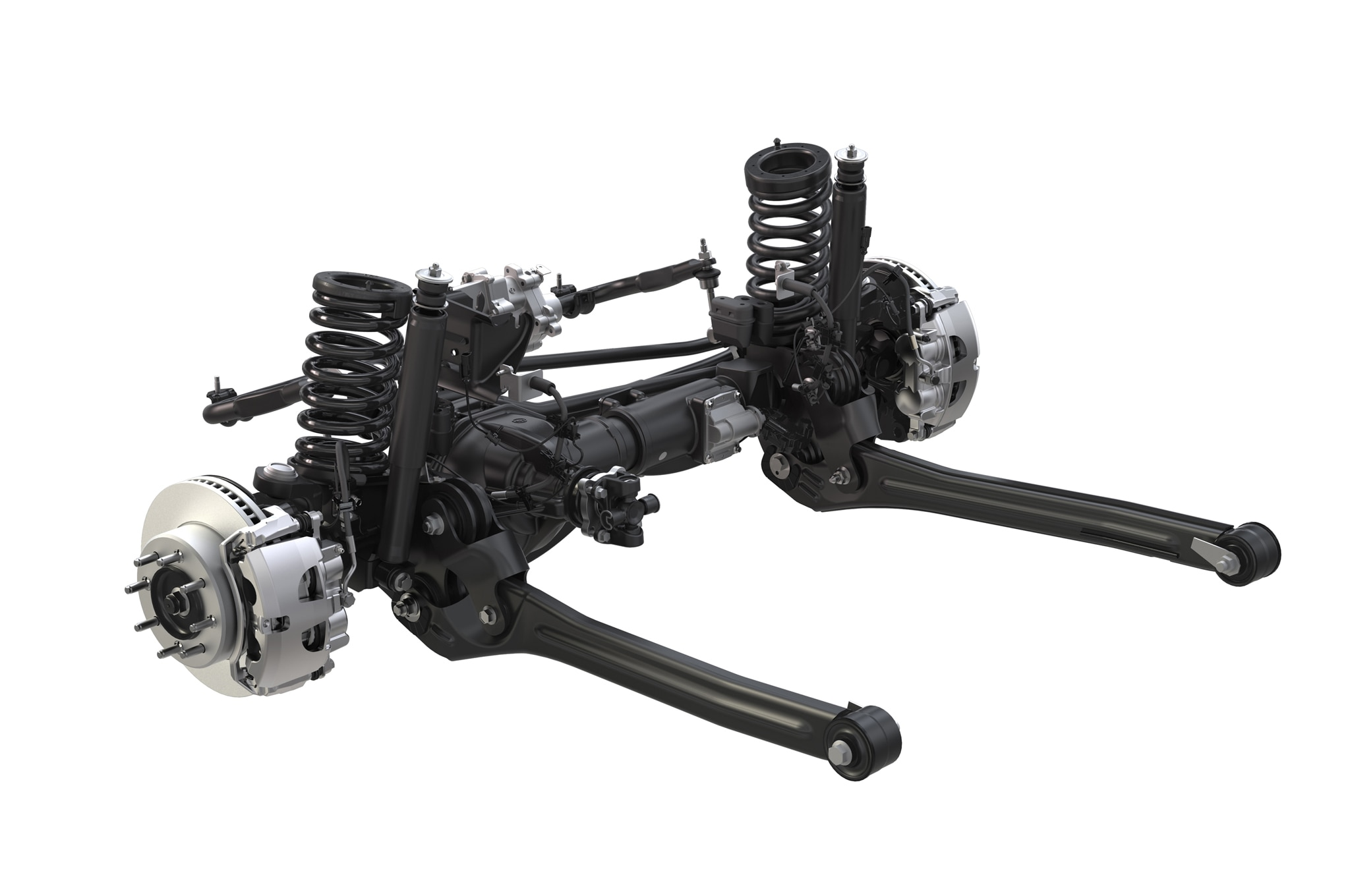 2014 Ram 2500 Power Wagon front axle