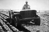 Jeep Tractor built on the CJ 3A platform