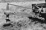 Roper Iron Works post hole digger