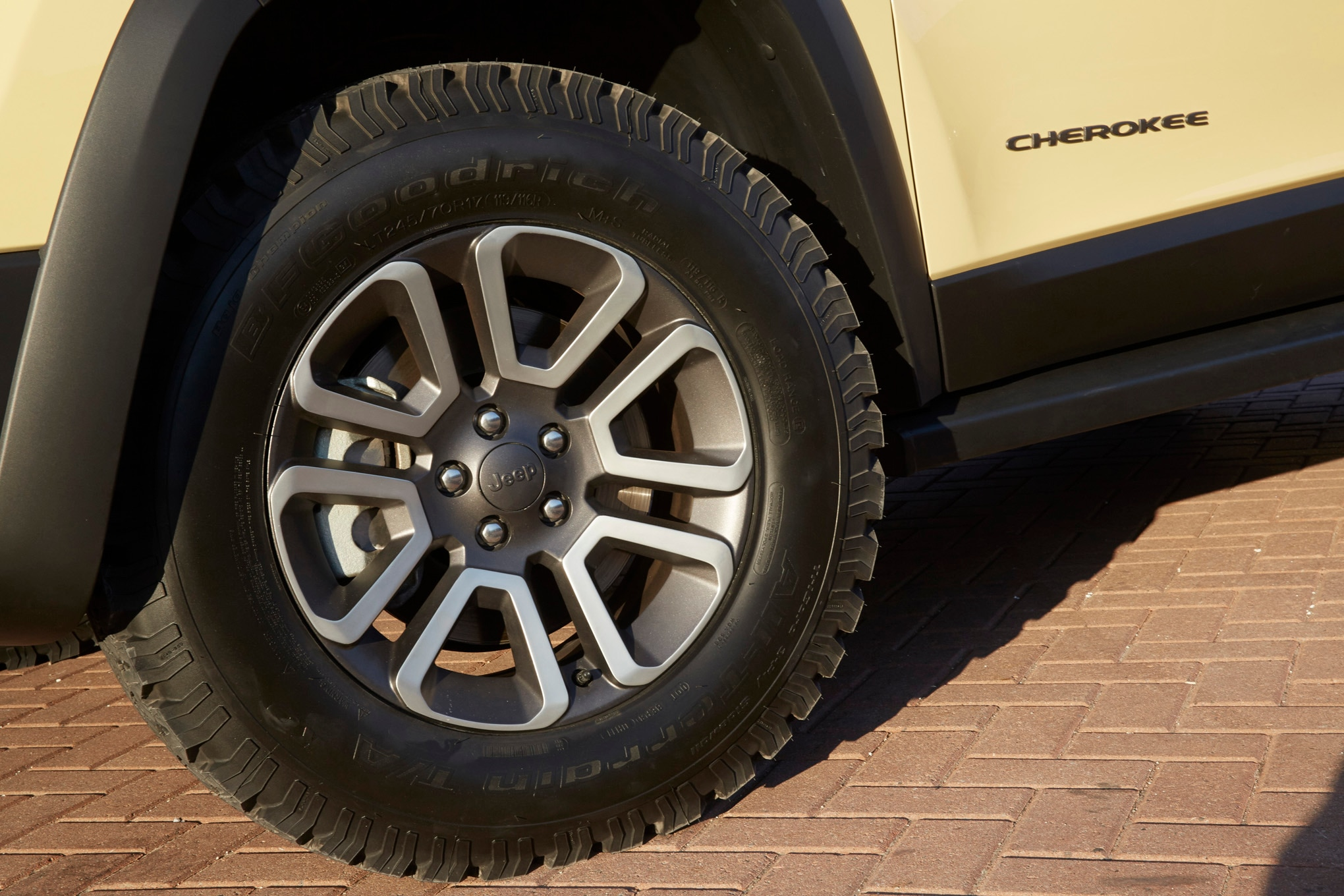 Jeep Cherokee Adventurer Concept wheels