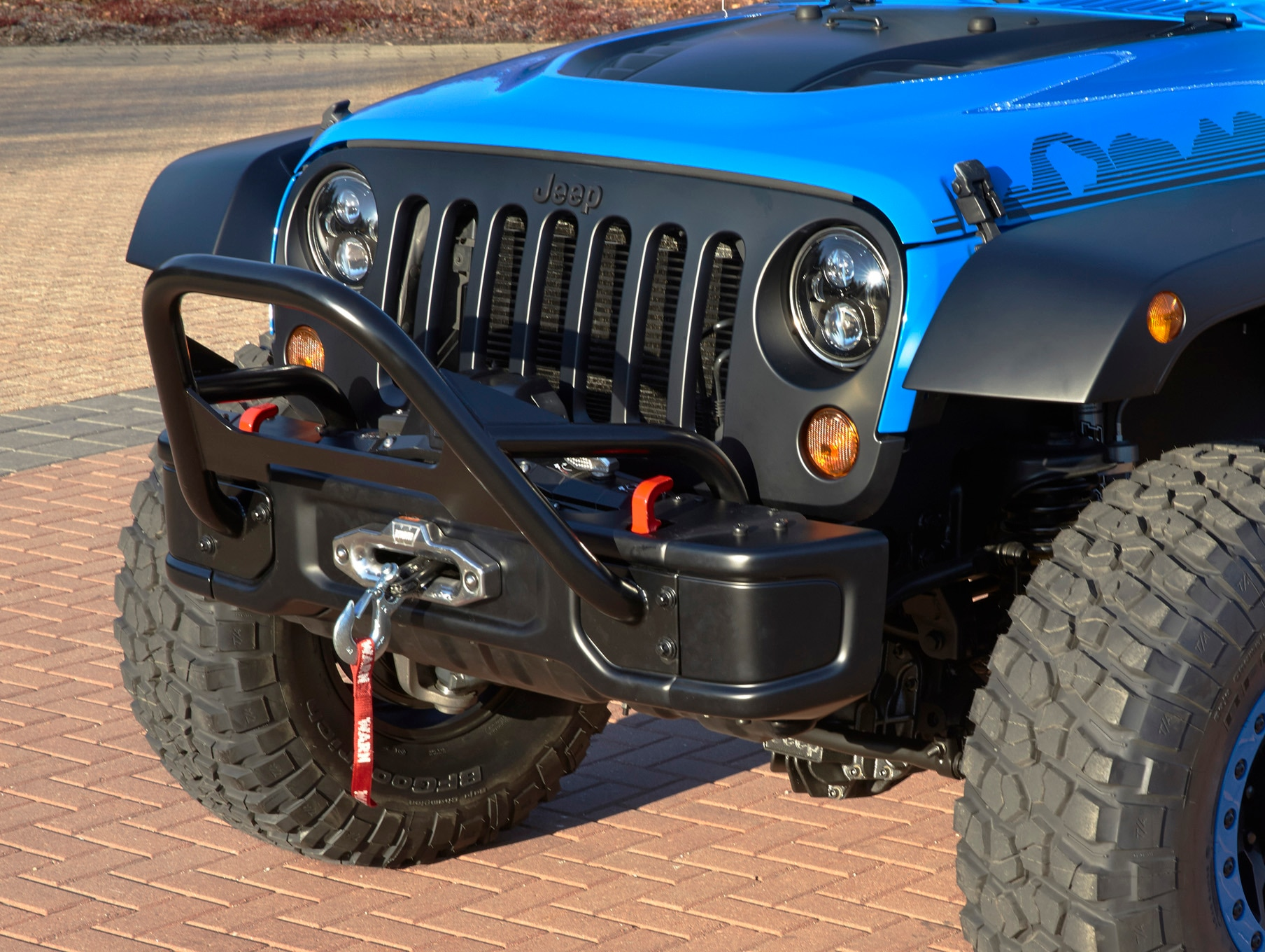 Jeep Wrangler Maximum Performance Concept front grille
