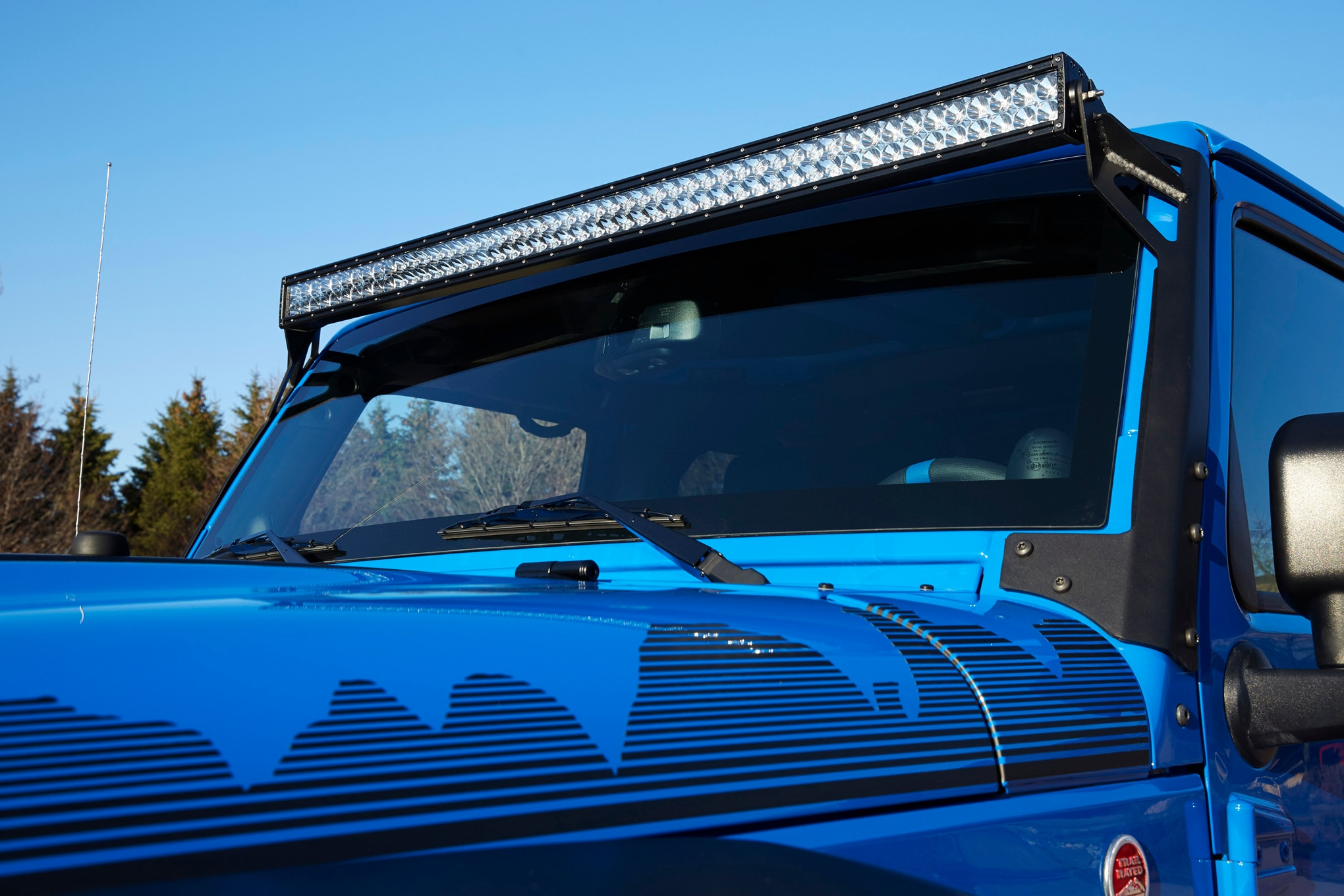 Jeep Wrangler Maximum Performance Concept LED lights