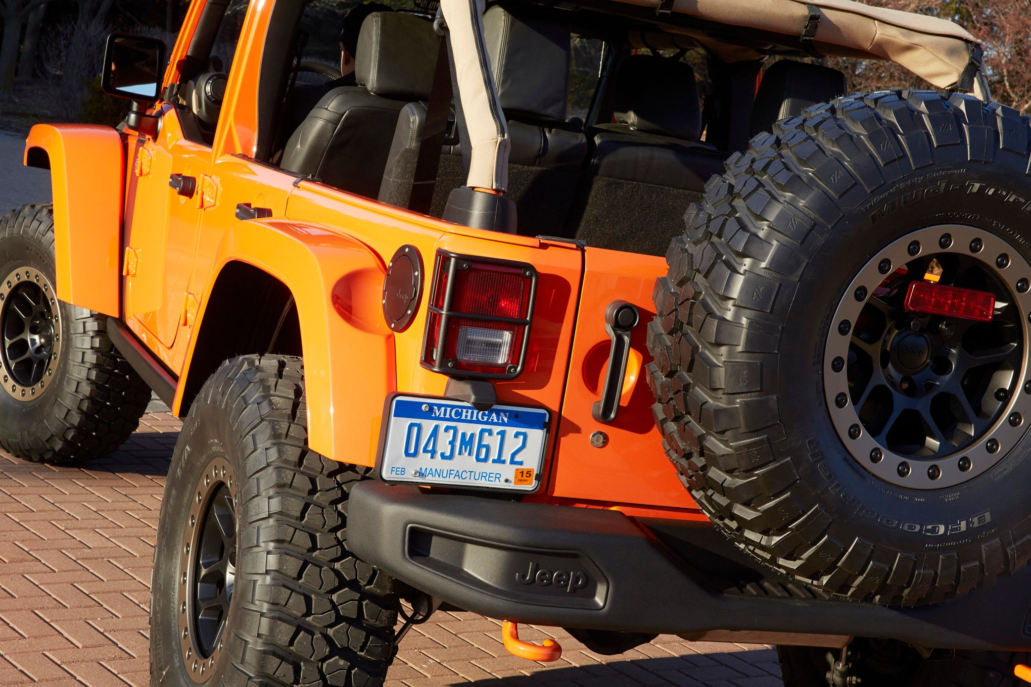 Jeep Wrangler MOJO Concept rear end