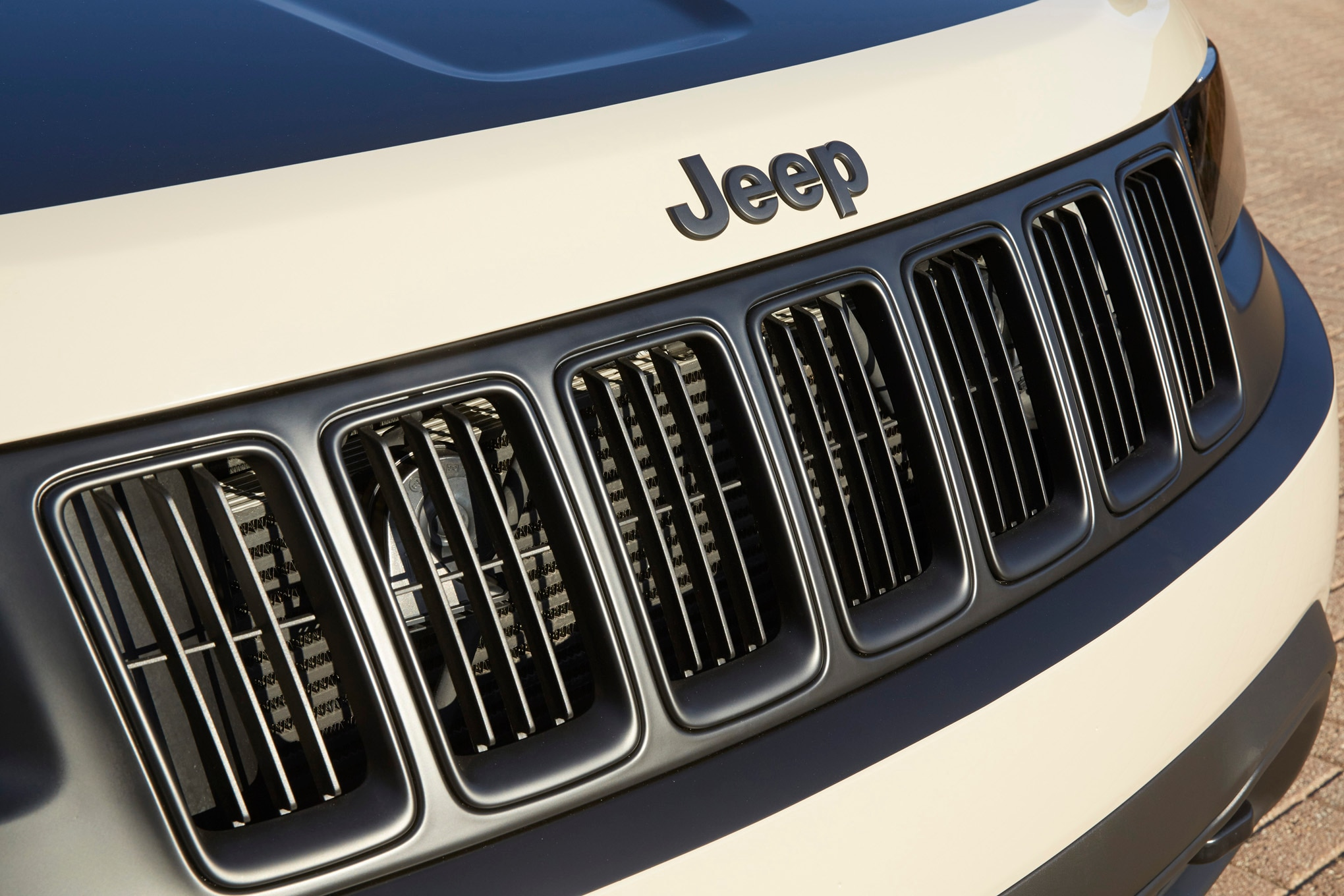 Jeep Grand Cherokee EcoDiesel Trail Warrior Concept grille