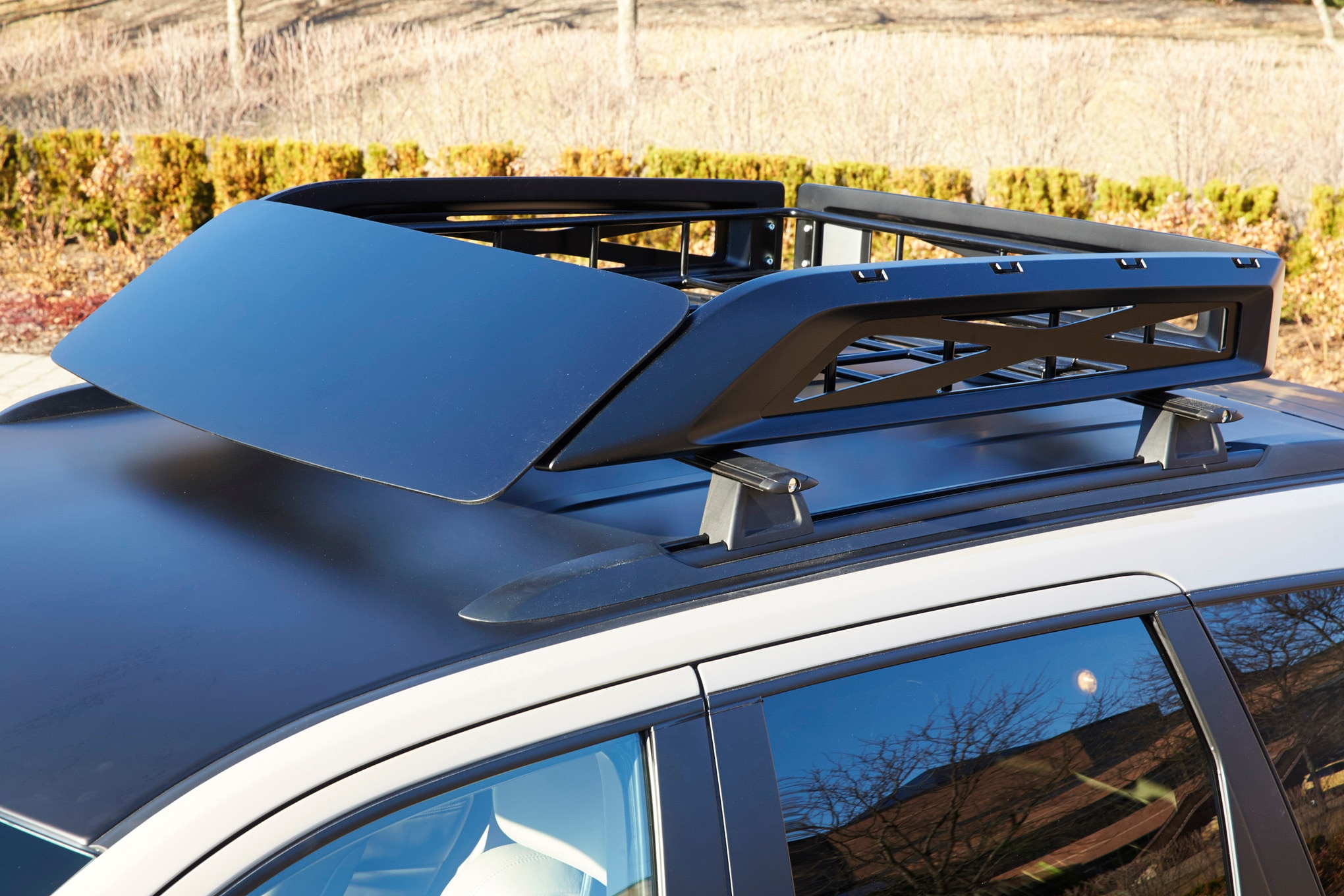 Jeep Grand Cherokee EcoDiesel Trail Warrior Concept roof rack