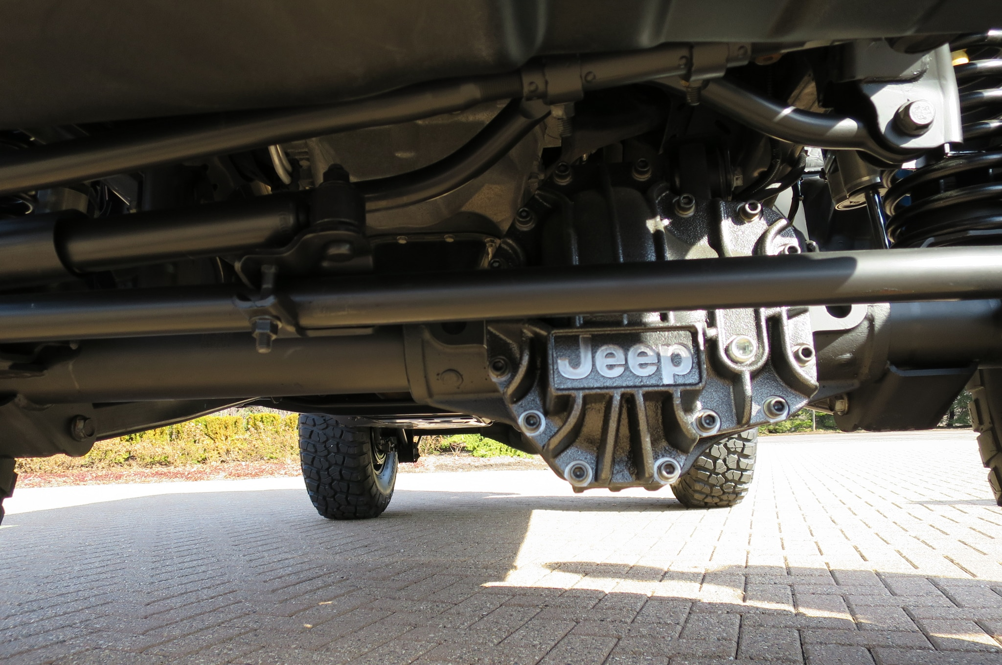 Jeep Wrangler Maximum Performance Concept axle