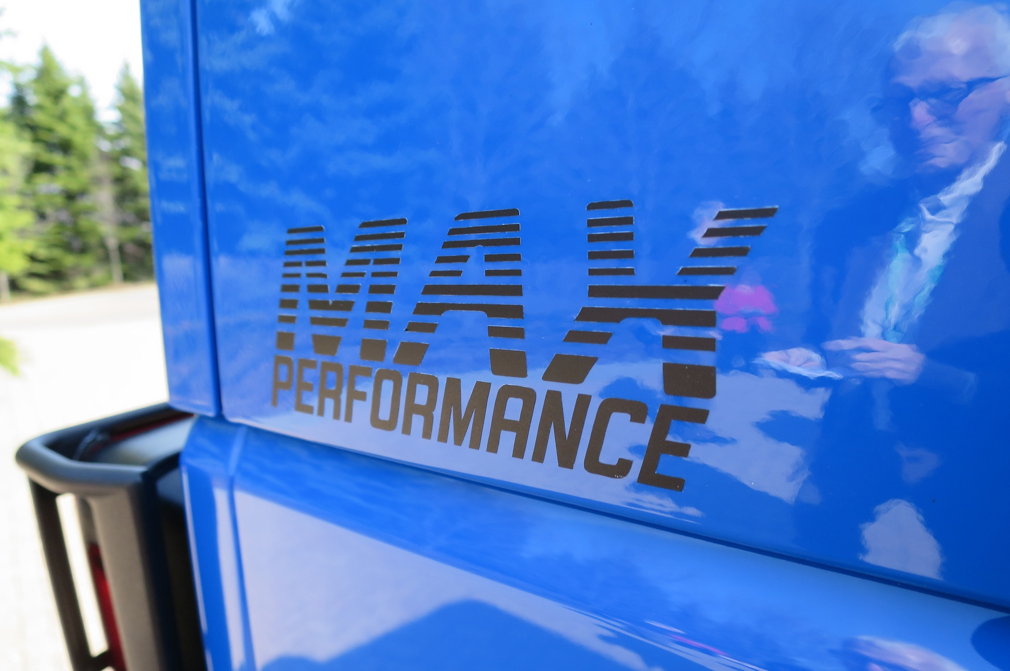 Jeep Wrangler Maximum Performance Concept exterior decals