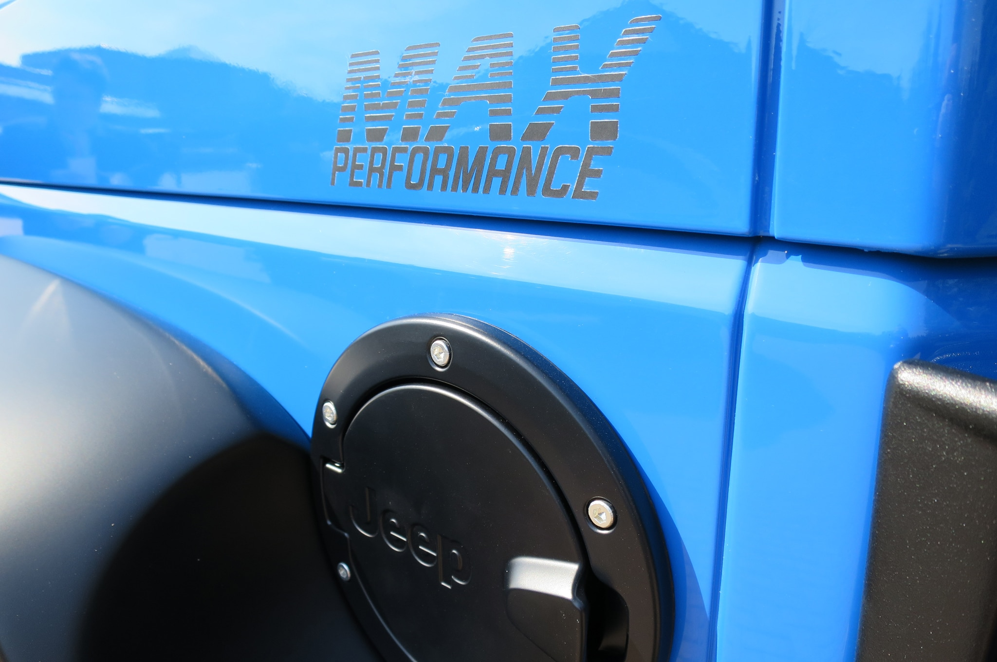 Jeep Wrangler Maximum Performance Concept fuel cap