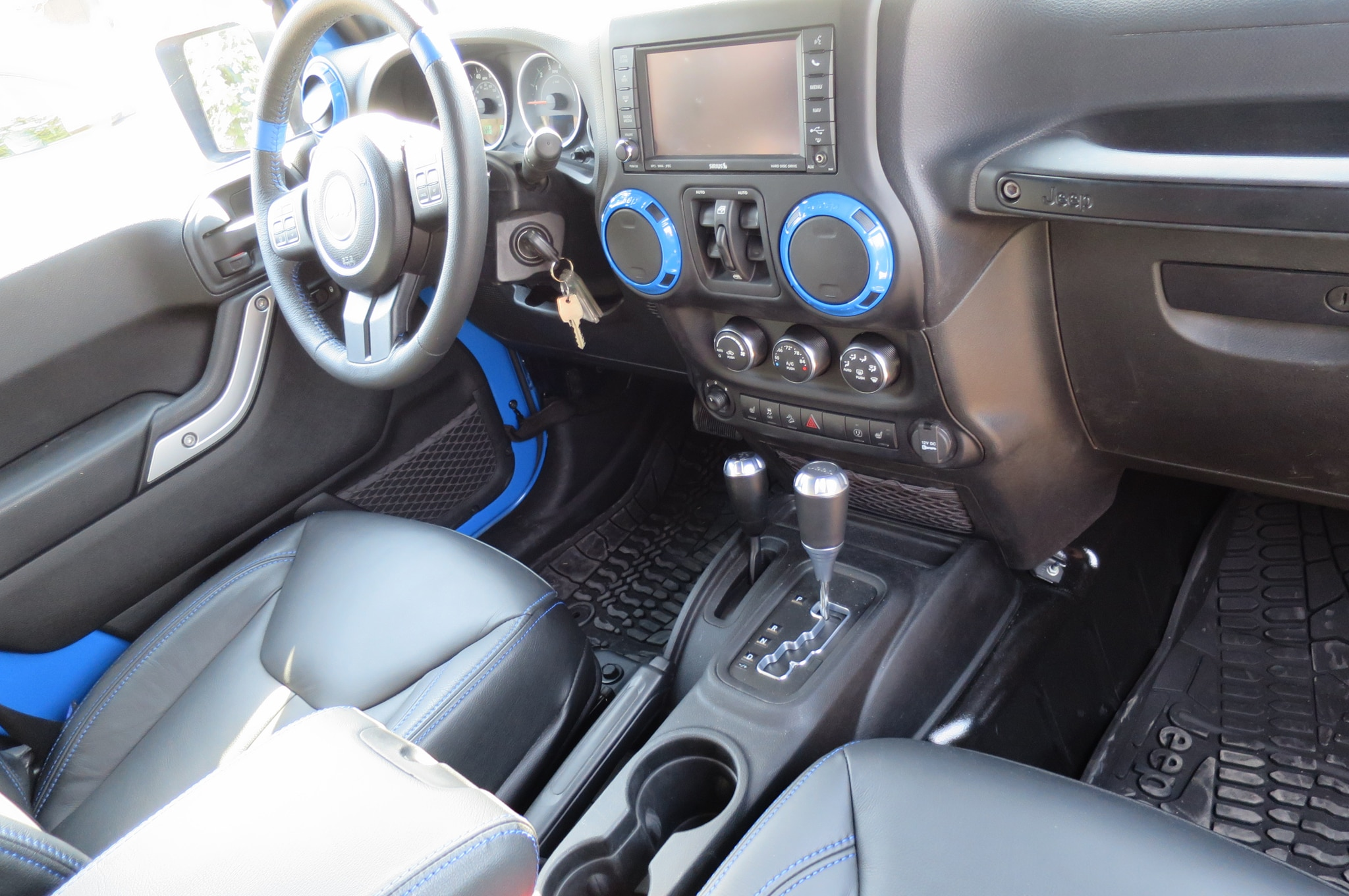 Jeep Wrangler Maximum Performance Concept interior view