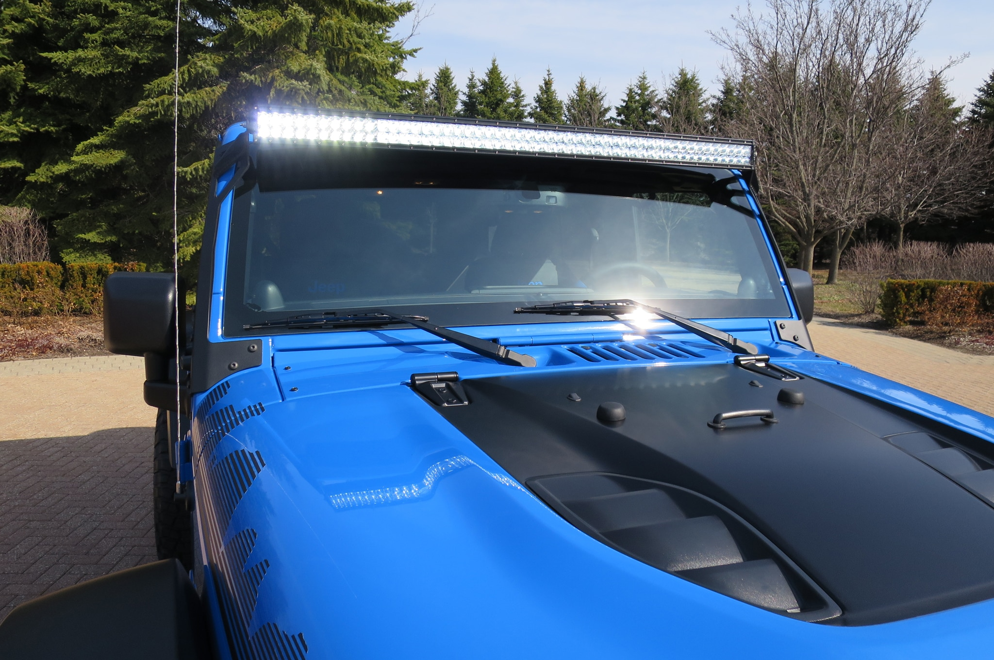 Jeep Wrangler Maximum Performance Concept LED lights 02