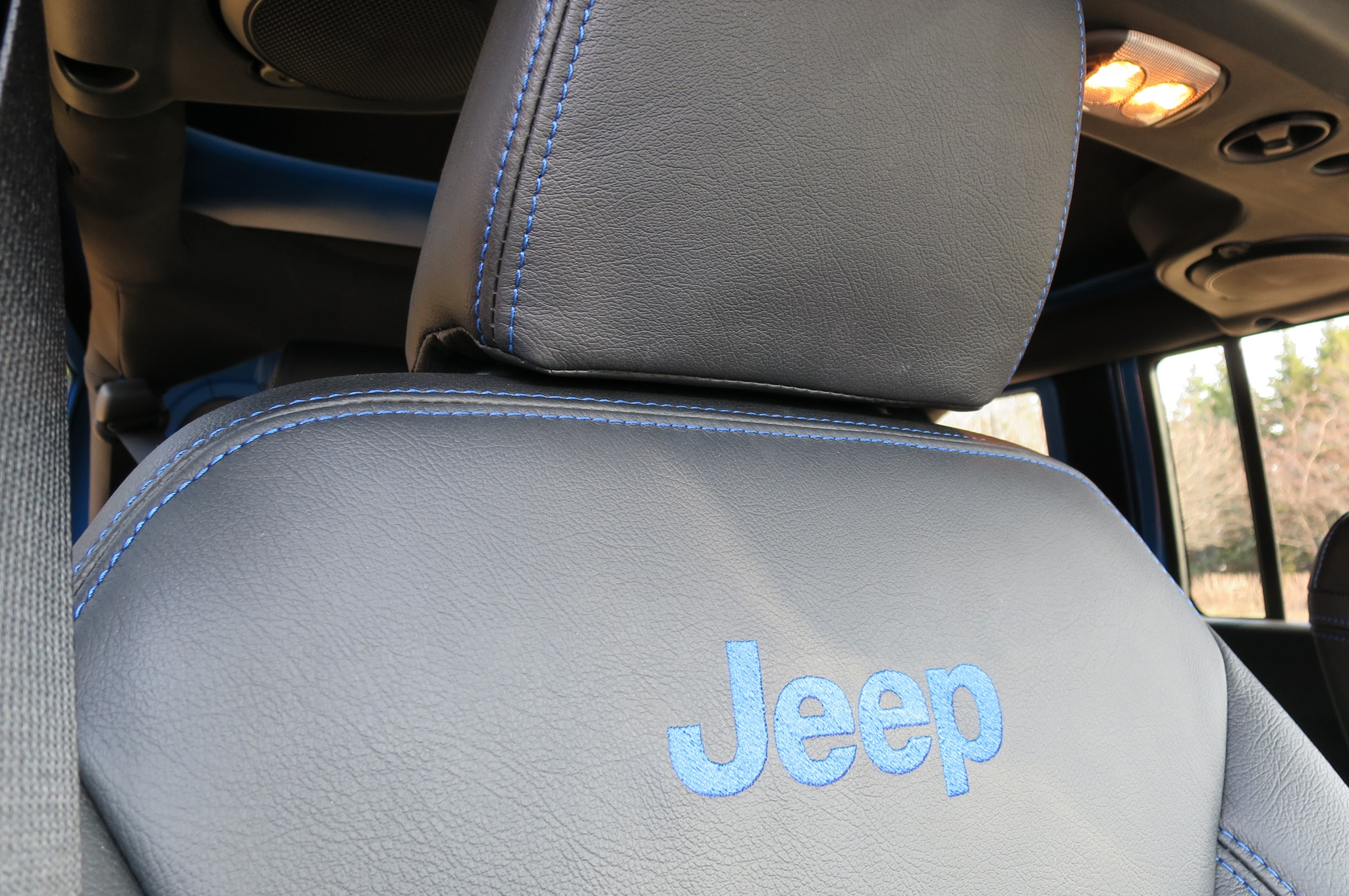 Jeep Wrangler Maximum Performance Concept interior seats