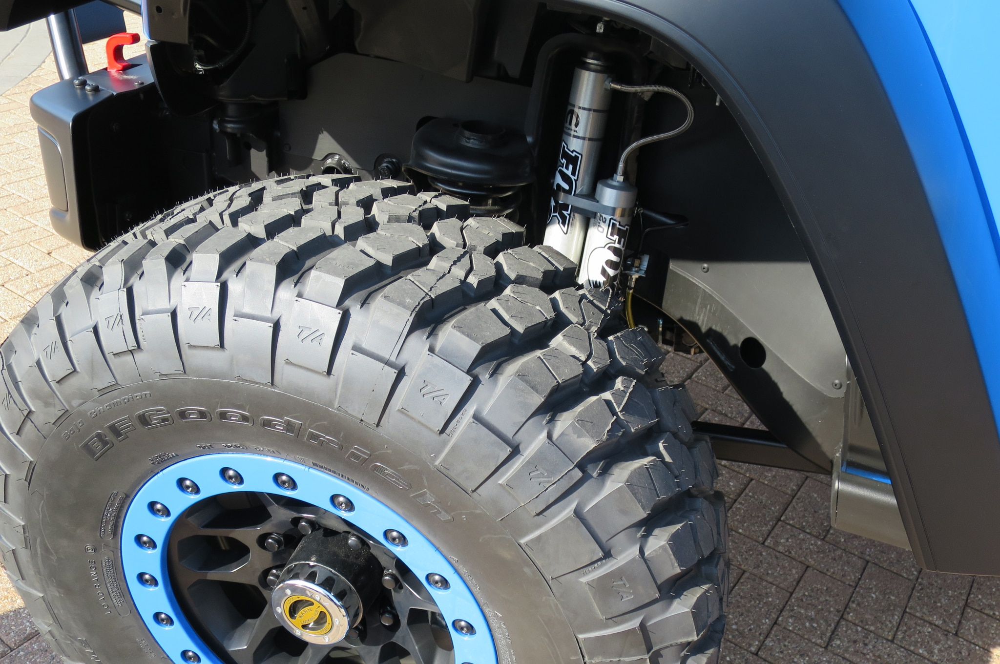 Jeep Wrangler Maximum Performance Concept wheels