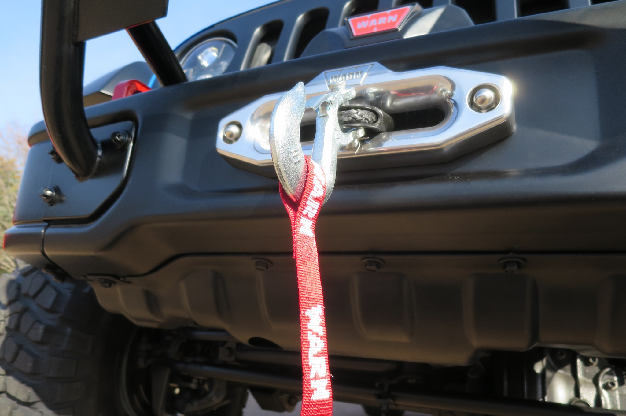 Jeep Wrangler Maximum Performance Concept tow hook