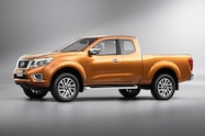 Nissan NP300 Navara 12th gen side front view King Cab