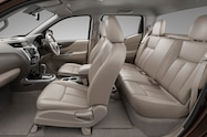 Nissan NP300 Navara 12th gen interior side view