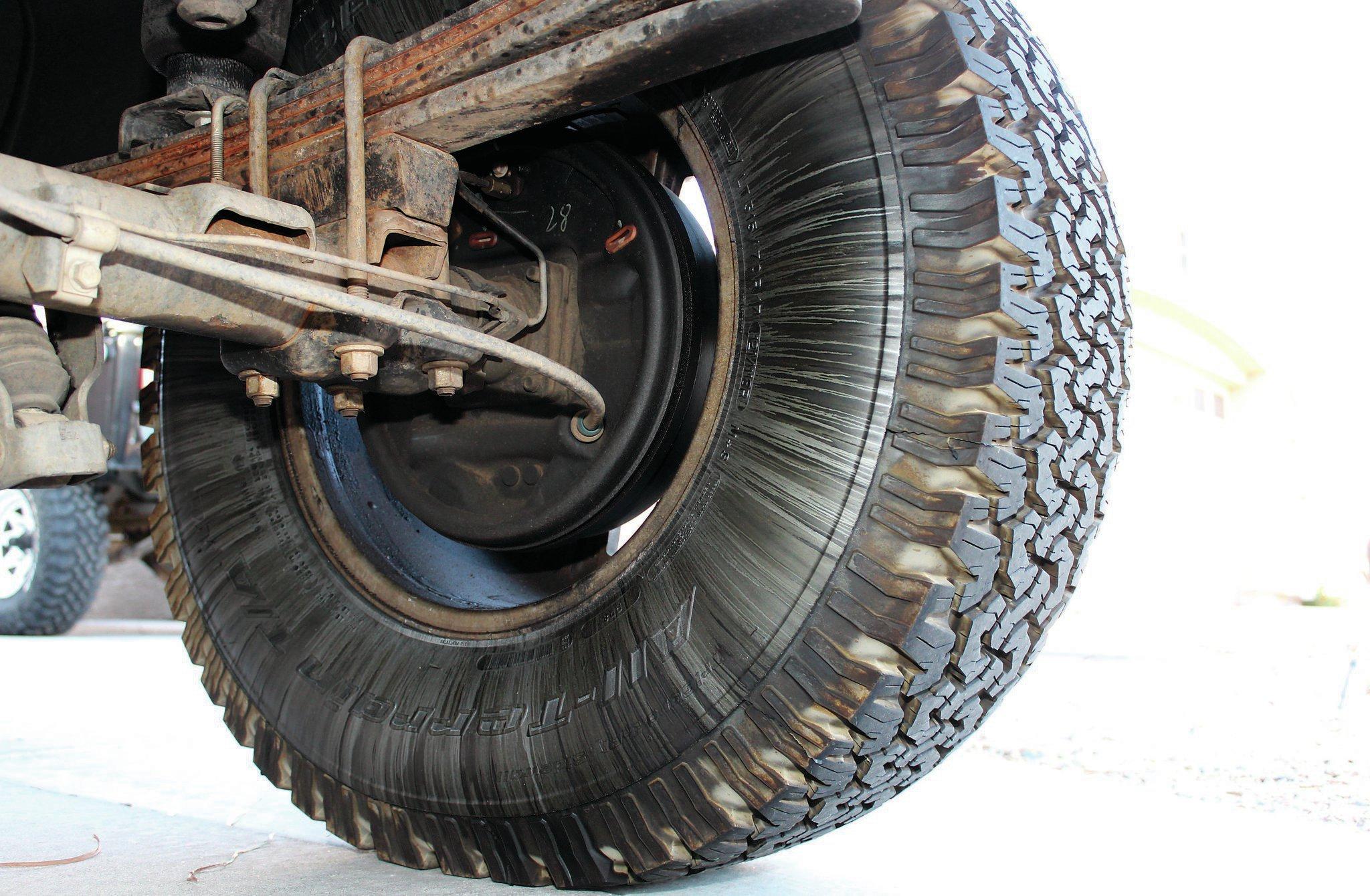 leaky axle