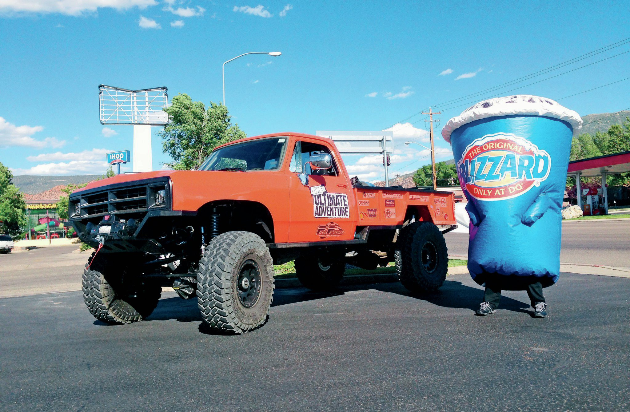 Ultimate Tug Truck And Dq Blizzard Photo 72698429