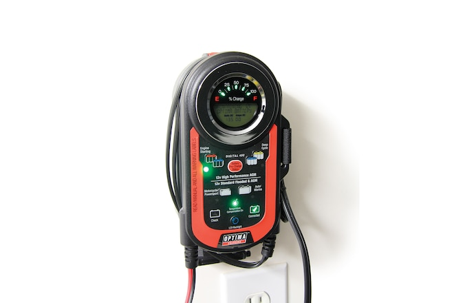 Optima's Digital 400 Battery Charger/Tender