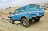 1975 Jeep Cherokee rear three quarter