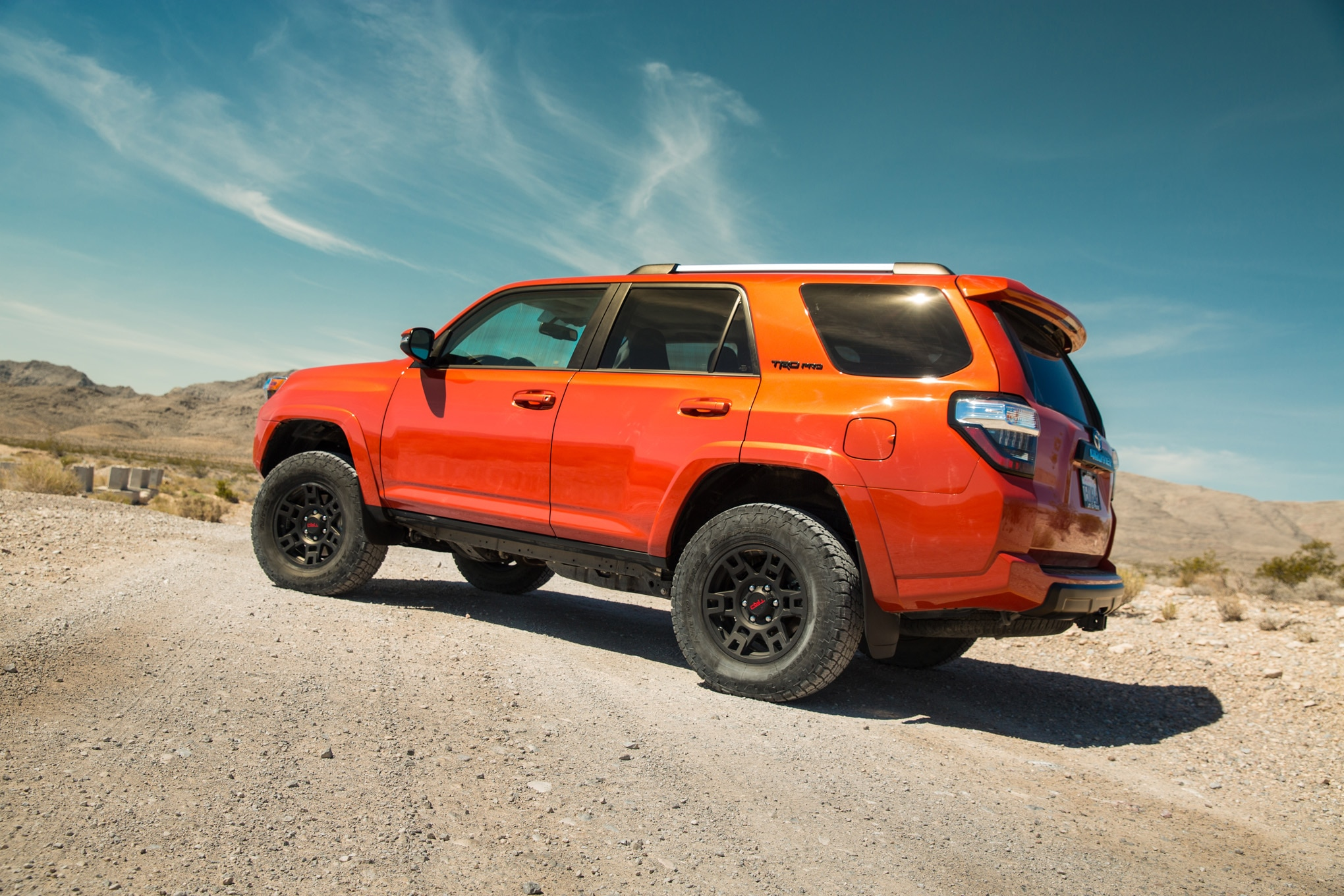 2015 Toyota 4Runner TRD Pro rear three quarters