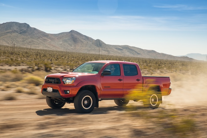 2015 Toyota Tacoma TRD Pro Pricing To Start At $36,410, 4Runner At $41,995
