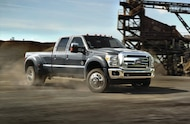 2015 Ford F 450 Super Duty front three quarter