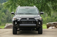 Toyota 4Runner front view
