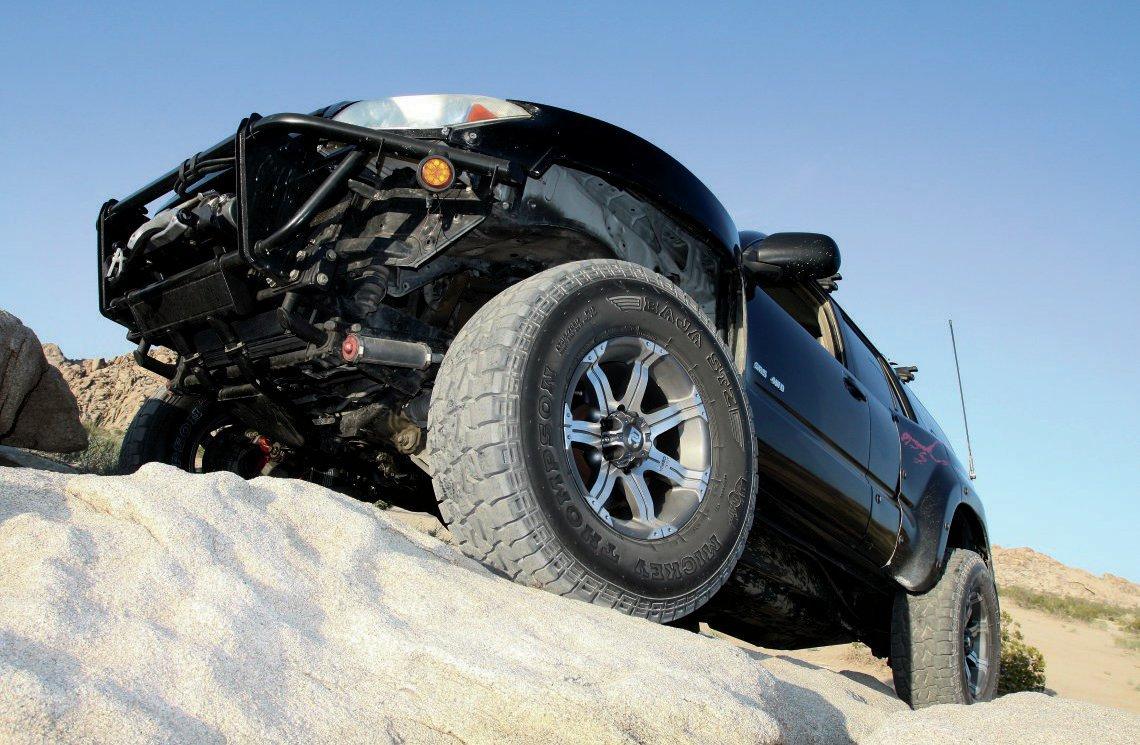 Toyota 4Runner Testing Mickey Thompson Baja STZs 001