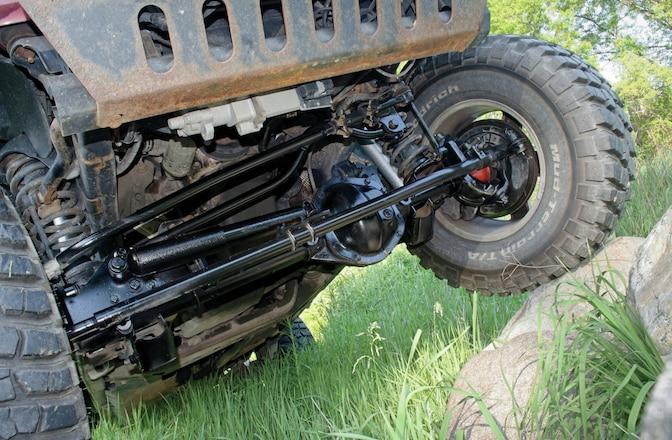 Jeep JK Wrangler Stock Dana 44 Axle - Upgrade Or Replace?