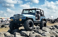 1980 Jeep CJ 7 front three quarter