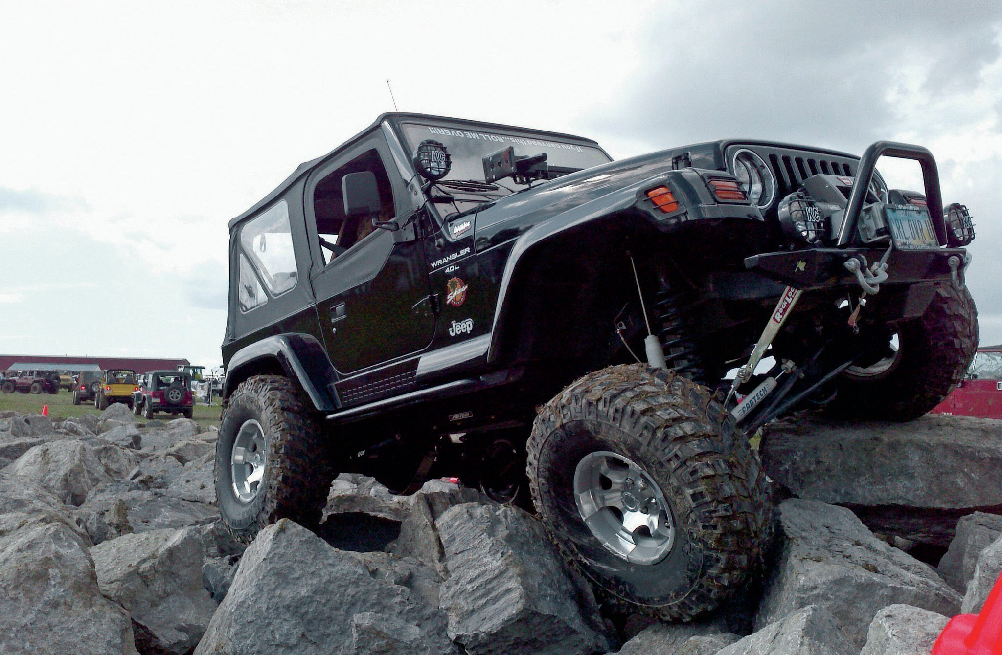 1997 Jeep TJ front three quarter