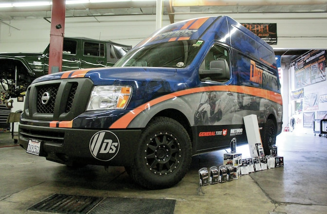 Nissan NV 2500 - Project DSNV