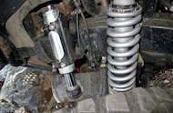2006 Hummer H3 Fox 12 inch travel coilovers
