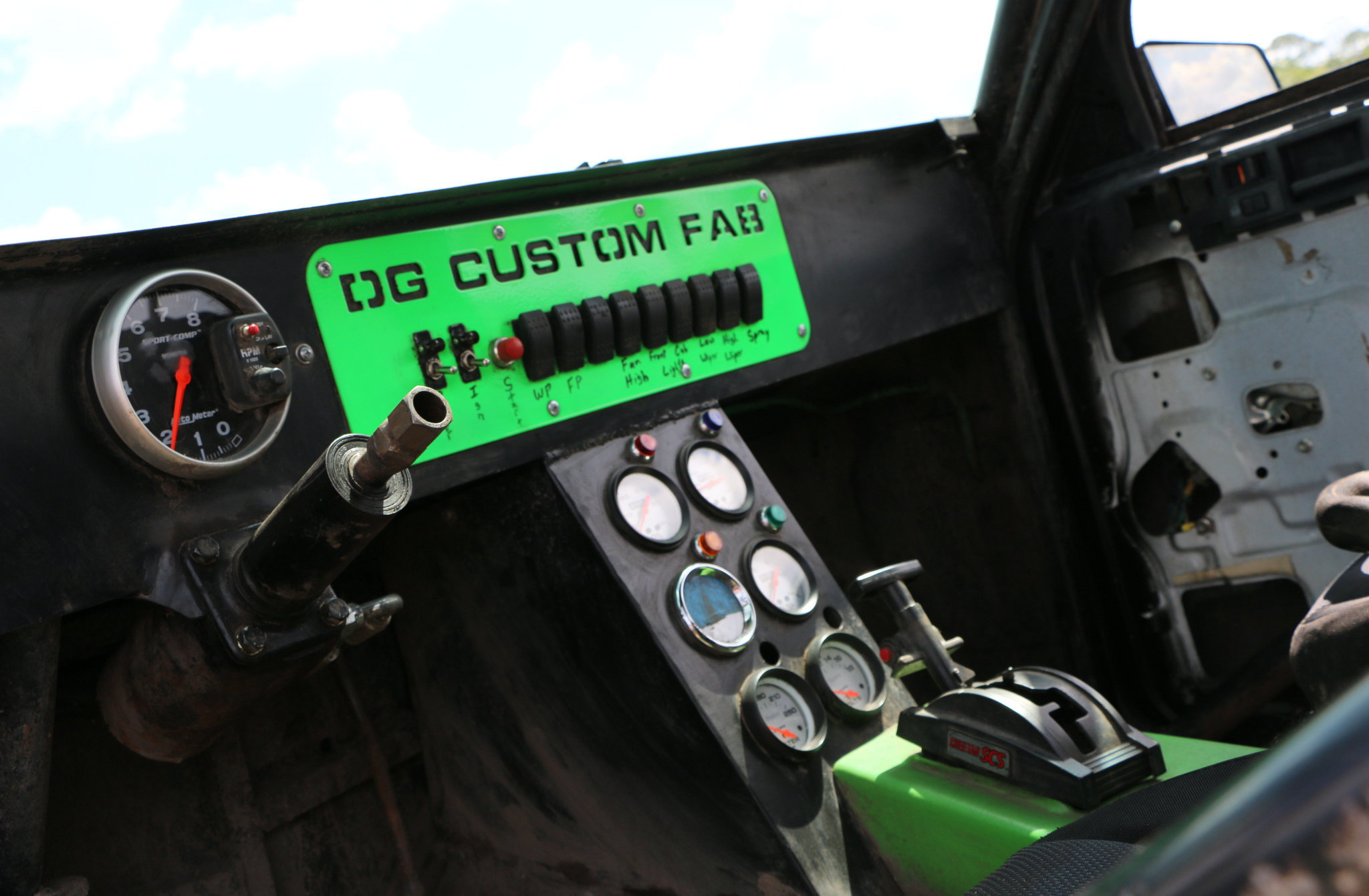 1989 chevy s 10 mud truck dash
