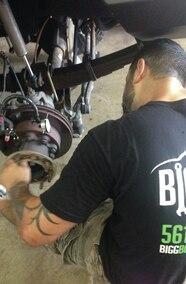 measuring brake rotor