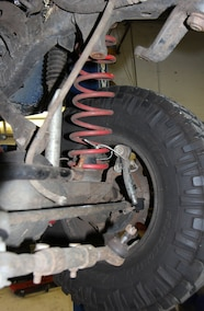 jeep front coil spring
