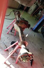 rockwell axle moked up
