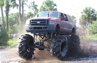 ford super duty mud truck