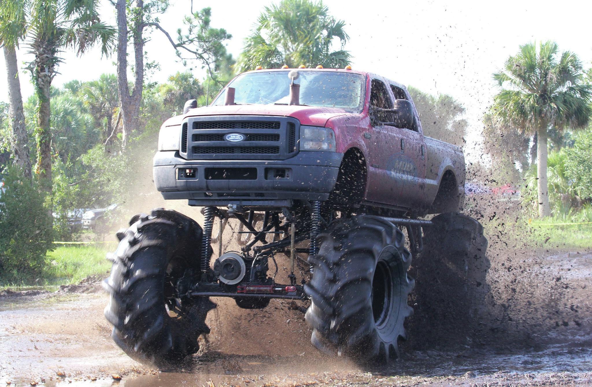 ford super duty mud truck