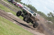 custom chevy silverado mud race truck