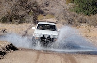 toyota 4runner crossing water
