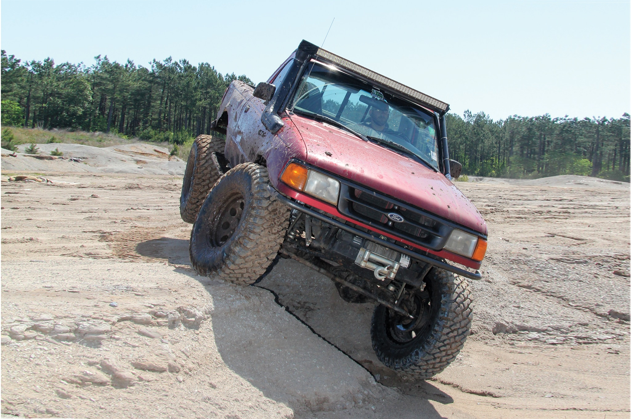 Strategically placed sipings and tread blocks provide bite in wet conditions. The load range D 3-ply sidewall on our prototypes list a max capacity of 3,525 pounds, which is slightly overkill for a lightweight pickup or SUV, but equates to an ultra-thick compound that is less susceptible to damage off-road.