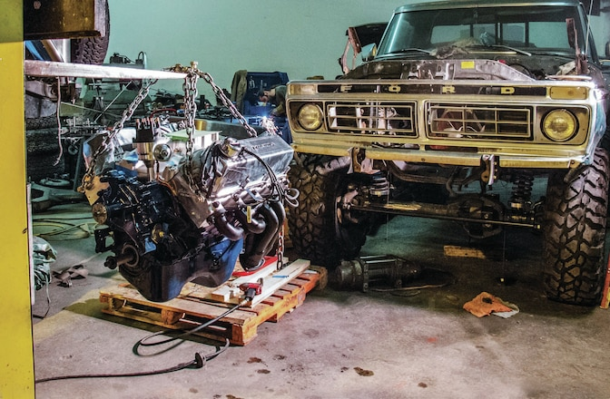 Ford F-150 Engine Upgrade - 460 Big-Block Power
